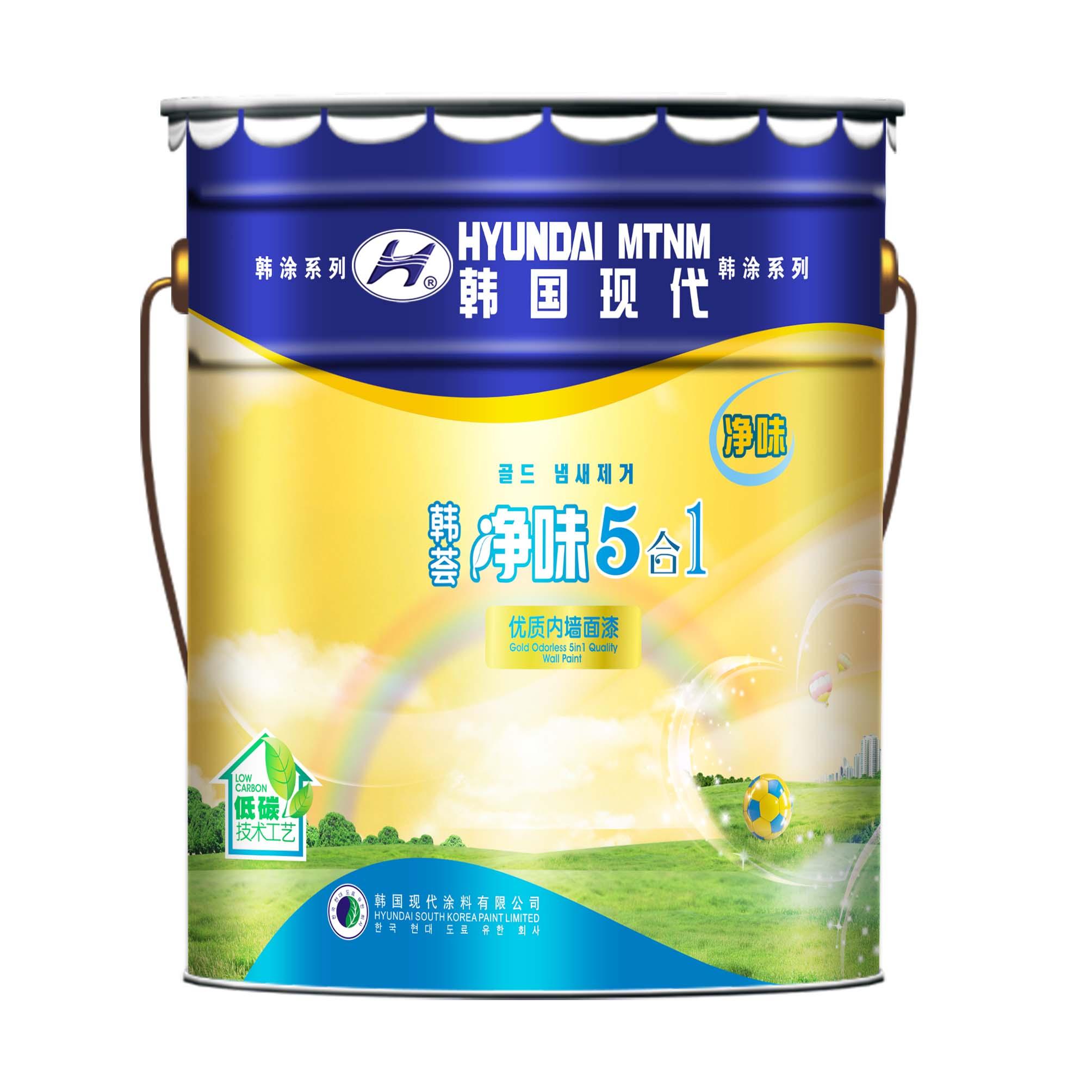 韩荟 净味5合1优质内墙面漆