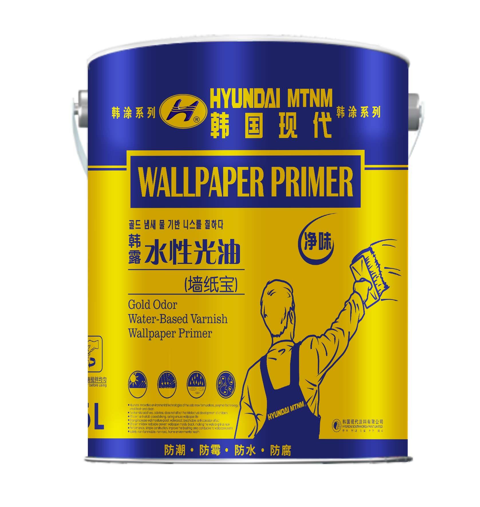 韩露 水性光油(墙纸宝)-5kg