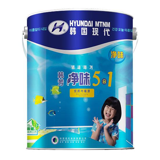韩芳  金装净味5合1优质内墙漆(哑光)